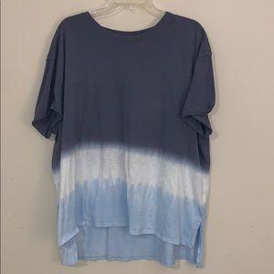 Blue ombré T-shirt